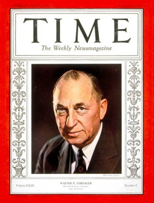 Image result for walter chrysler