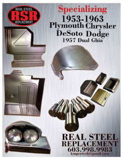 Reproduction Chrysler Parts